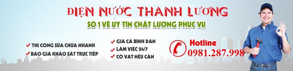 Điện nước Thanh Lương : sửa điện nước