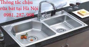 Gọi thợ thông tắc chậu rửa bát tại Hà Nội