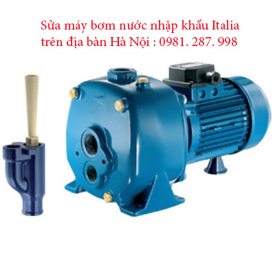 Sửa máy bơm nước Italia
