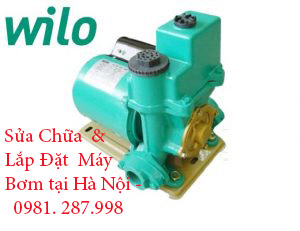 Sửa máy bơm nước Wilo