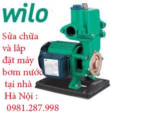 sửa chữa và lắp đặt máy bơm nước Wilo tại Hà Nội