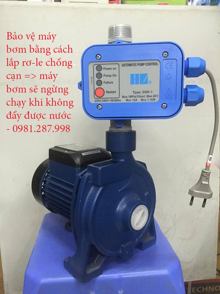Lắp bộ chống cạn cho máy bơm nước tại Hà Nội - 0981.287.998