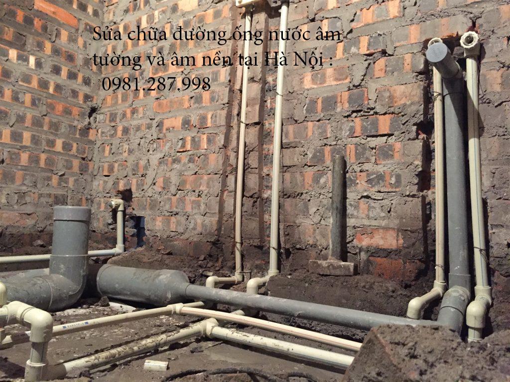 Thợ sửa chữa ống nước âm tường- âm nền chuyên nghiệp.
