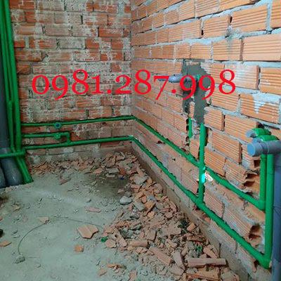 thay thế và lắp đặt ống nước tại nhà Hà Nội