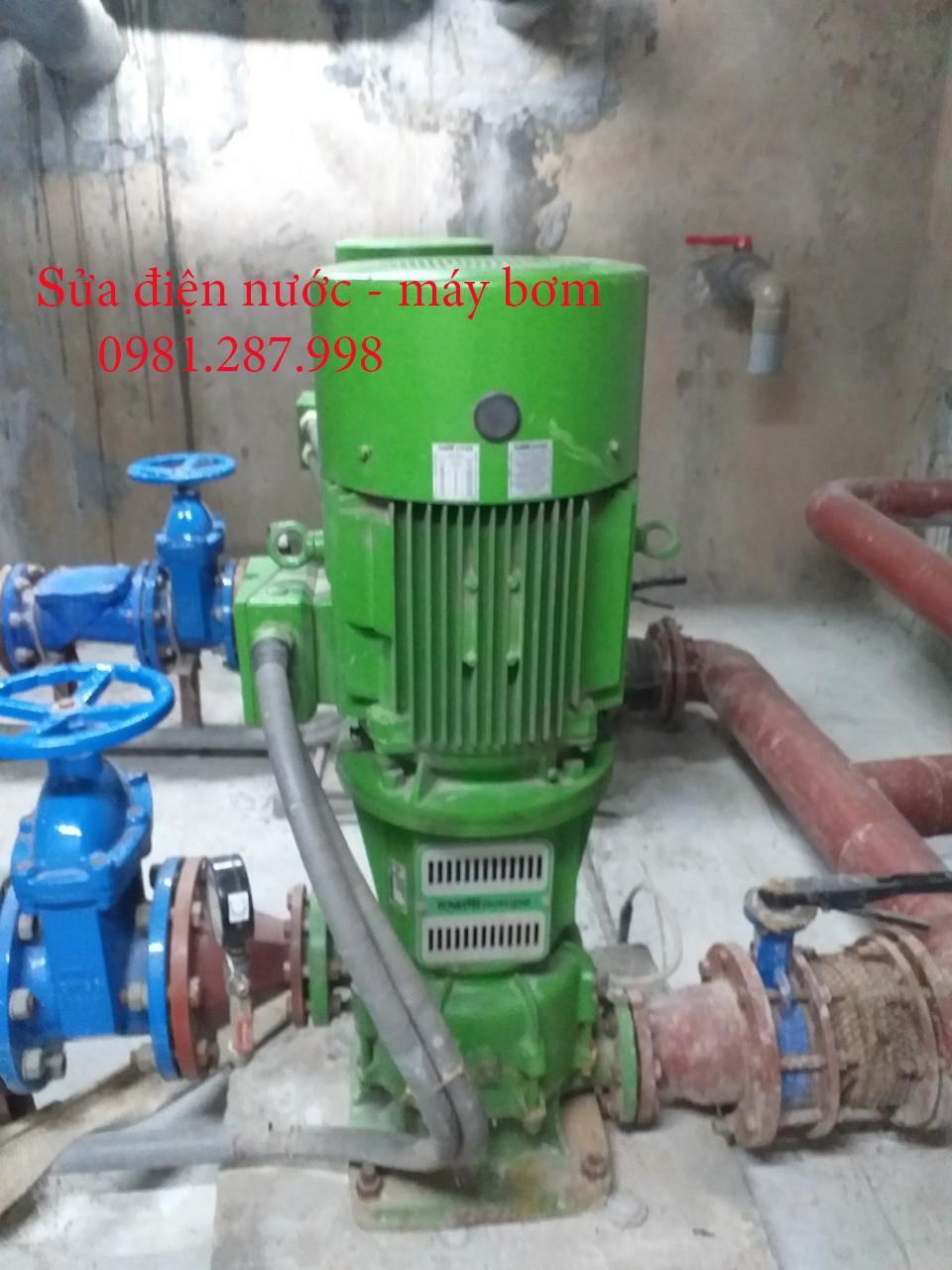 Sửa máy bơm - Sửa điện - sửa ống nước